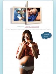Die Geburt - hier siehst du einzigartige Bilder eines Kaiserschnitts.
